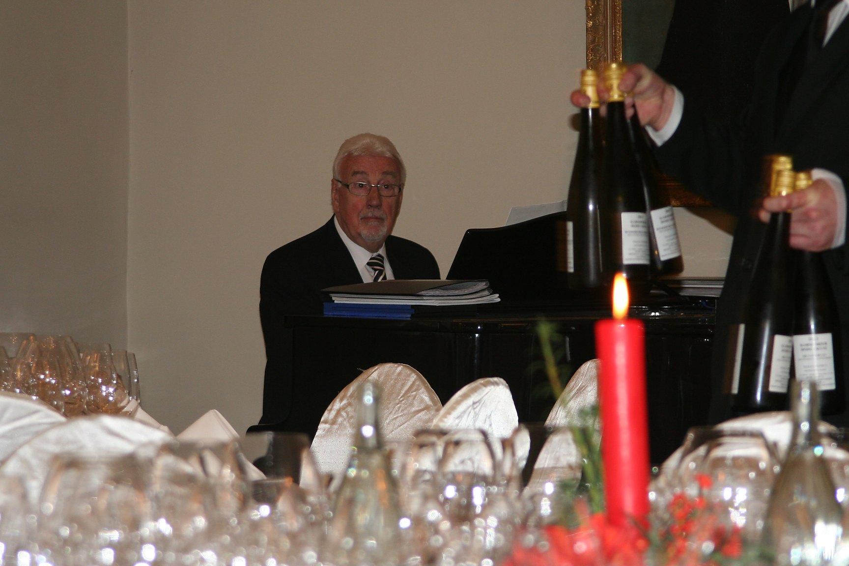 Wein und Klaviermusik