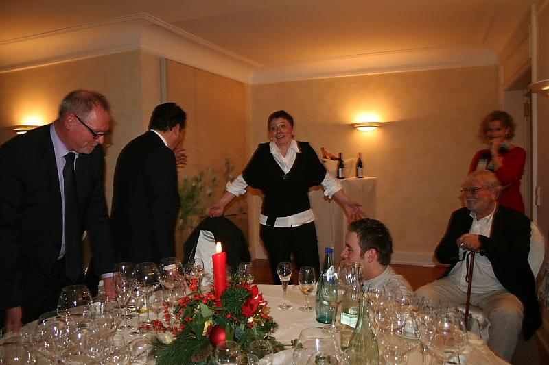 Collegium Vini in der Villa Mumm