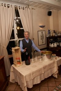 Die Weine des Gastrosophischen Jahresausklangs im Ristorante Brighella