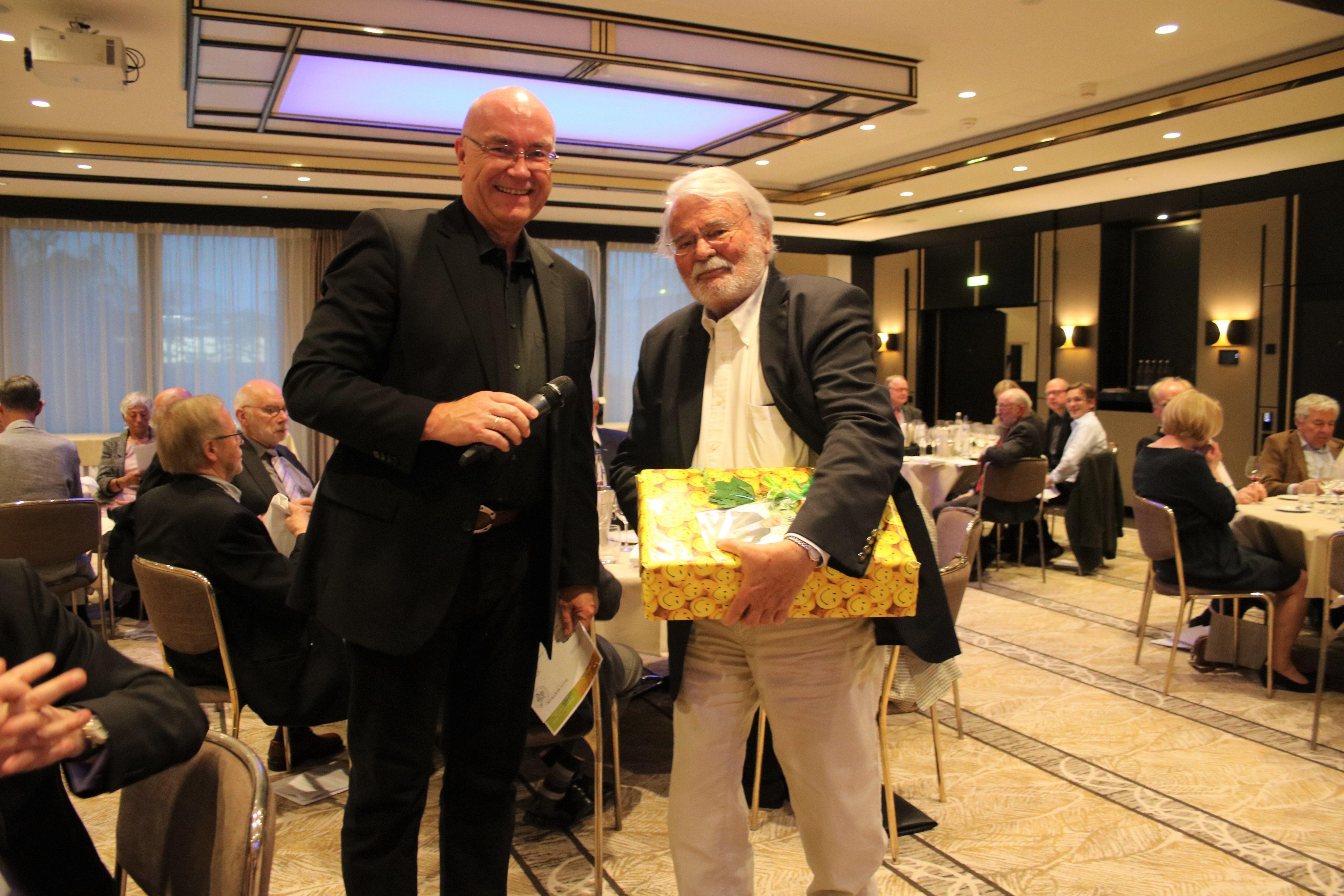 Collegium Vini 25.4.2019 Klaus Rössler und Dr. Peter Hilgard