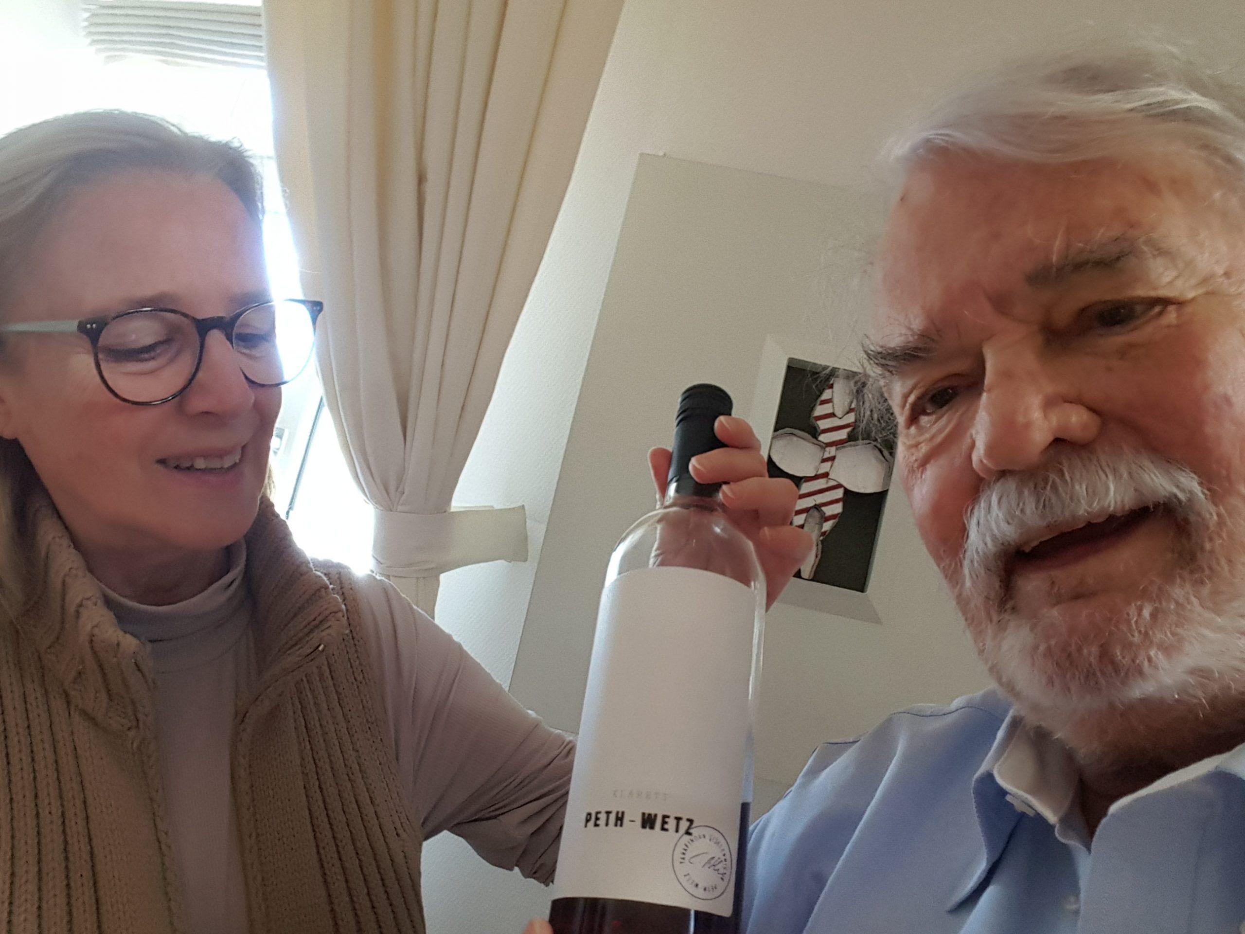 Der Wein in Zeiten des Corona: Das trinken Isabel del Olmo und Dr. Peter Hilgard