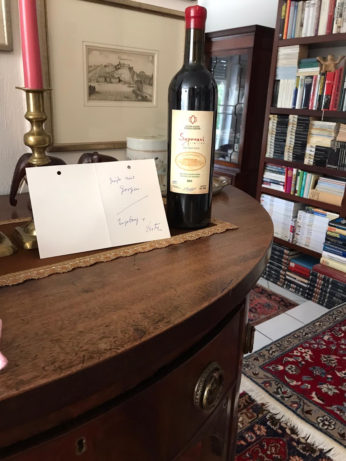 Der Wein in Zeiten des Corona: Das trinkt Gerda Machau