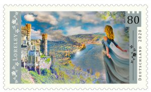 Read more about the article Die Loreley als Briefmarke