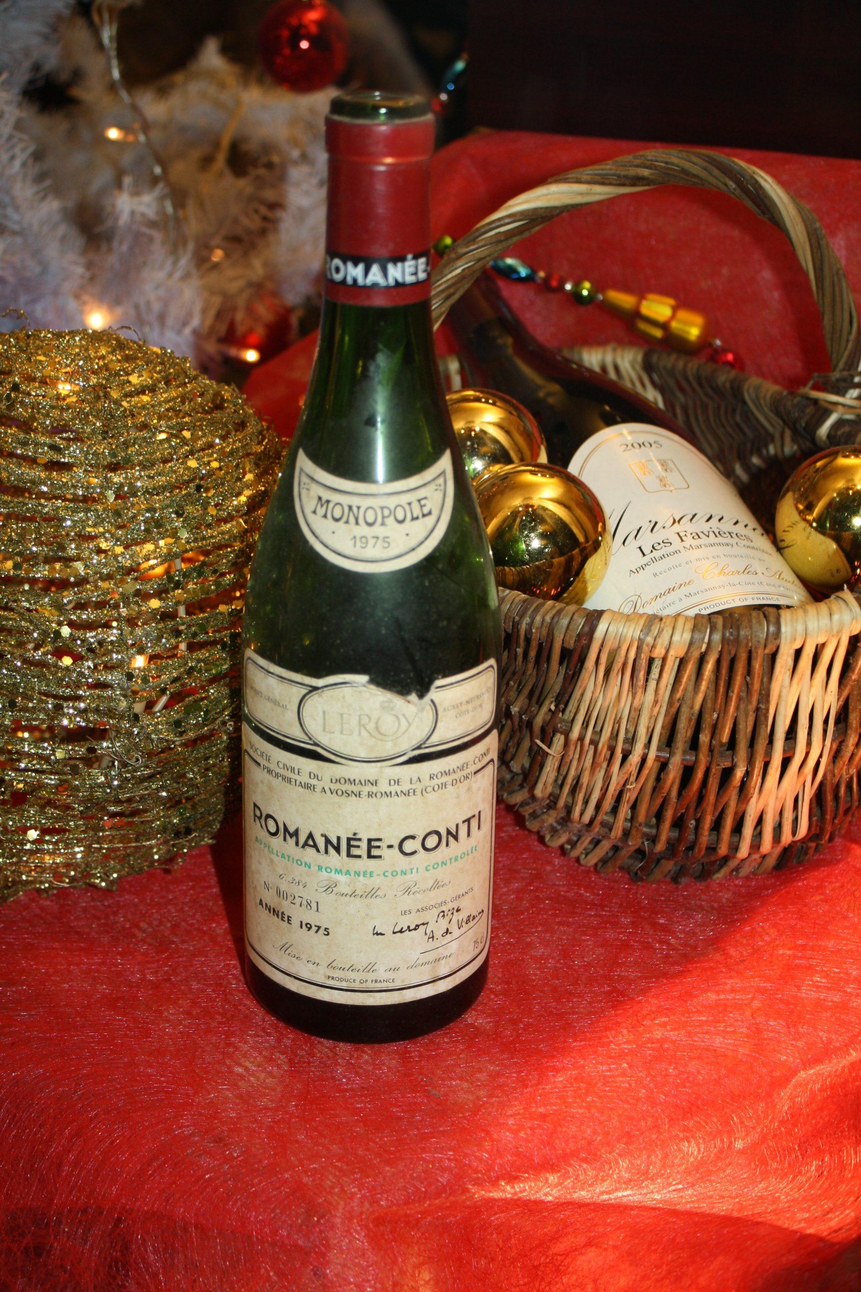 Festliche Online-Weinprobe mit Romanée-Conti?
